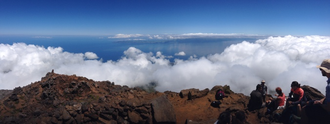 ... view from 2300m